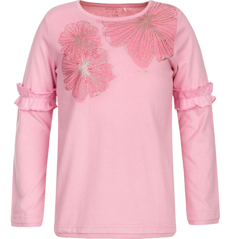 Endo - T-shirt z długim rękawem dla dziewczynki 3-8 lat D82G031_1