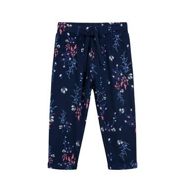 Endo - Spodnie dresowe dla dziecka do 2 lat, deseń w kwiaty N04K021_1 28