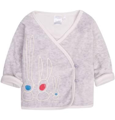 Endo - Welurowa bluza   dla dziecka 0-3 lata N72C003_1