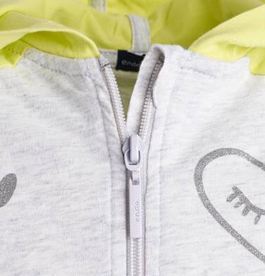 Endo - Rozpinana bluza z kapturem dla dziewczynki 3-8 lat D81C020_1