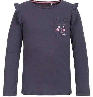 Endo - T-shirt z długim rękawem dla dziewczynki 3-8 lat D82G047_1