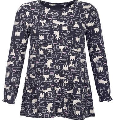 Endo - T-shirt z długim rękawem dla dziewczynki 3-8 lat D82G048_1