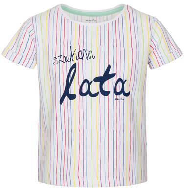 Endo - Bluzka z krótkim rękawem dla dziewczynki 9-13 lat D91G501_1