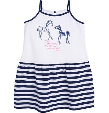 Endo - Sukienka na ramiączkach dla dziewczynki 3-8 lat D81H003_1
