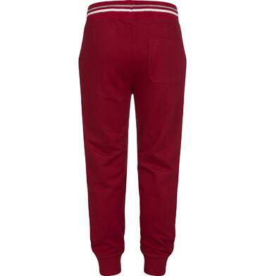 Endo - Spodnie dresowe dla chłopca, bordowe, 2-8 lat C04K024_1 27