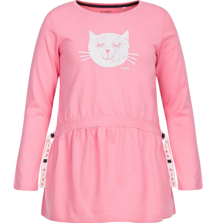 Endo - T-shirt z długim rękawem dla dziewczynki 3-8 lat D82G050_1