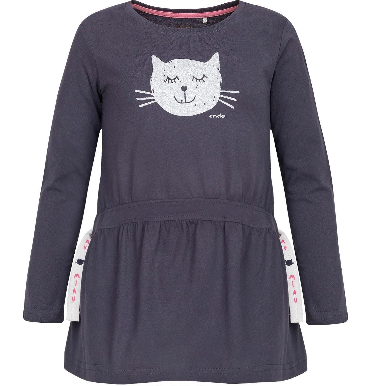 Endo - T-shirt z długim rękawem dla dziewczynki 3-8 lat D82G050_2