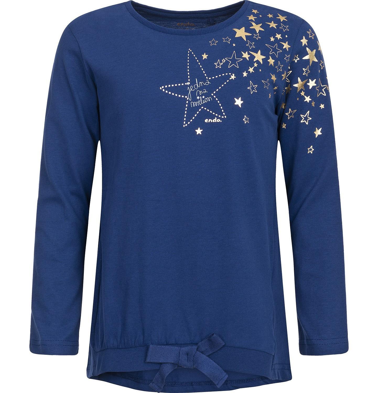 Endo - T-shirt z długim rękawem dla dziewczynki 3-8 lat D82G059_1