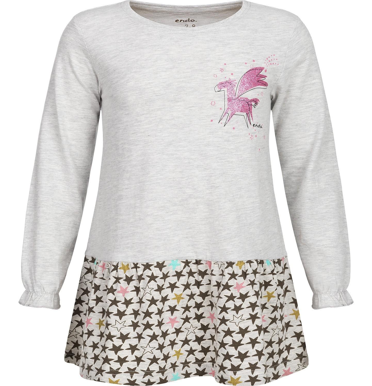 Endo - T-shirt z długim rękawem dla dziewczynki 3-8 lat D82G060_1