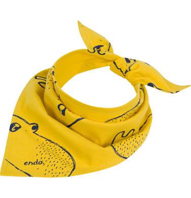 Endo - Chustka dla dziecka, w misie, żółta C04R035_1 83
