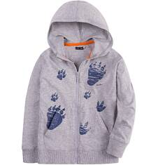 Bluza z kapturem na suwak dla chłopca 4-8 lat C71C025_1