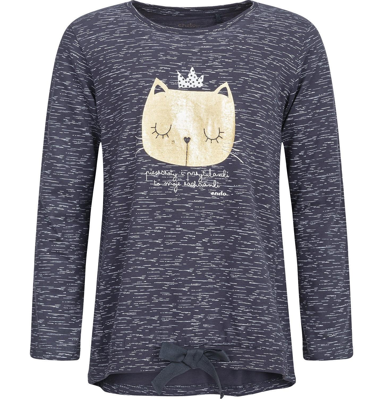 Endo - T-shirt z długim rękawem dla dziewczynki 3-8 lat D82G061_1