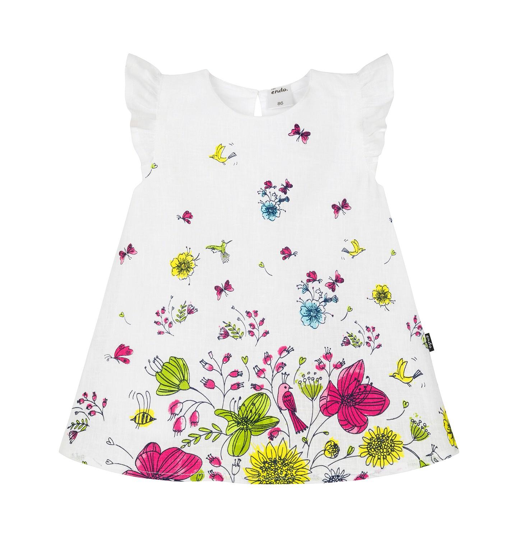 Endo - Sukienka dla dziewczynki 0-3 lata N91H035_1