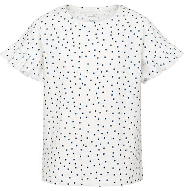 Bluzka z krótkim rękawem dla dziewczynki 3-8 lat D91G014_1