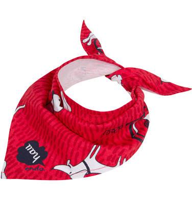 Endo - Chustka dla dziecka, czerwona C04R039_1,1