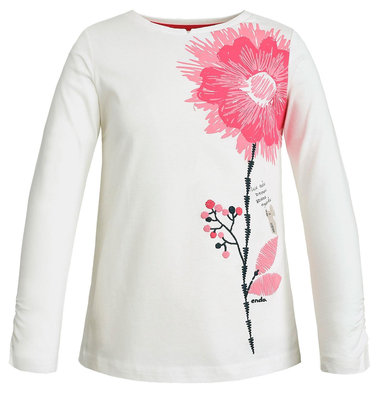 Endo - T-shirt z długim rękawem dla dziewczynki 3-8 lat D82G065_1