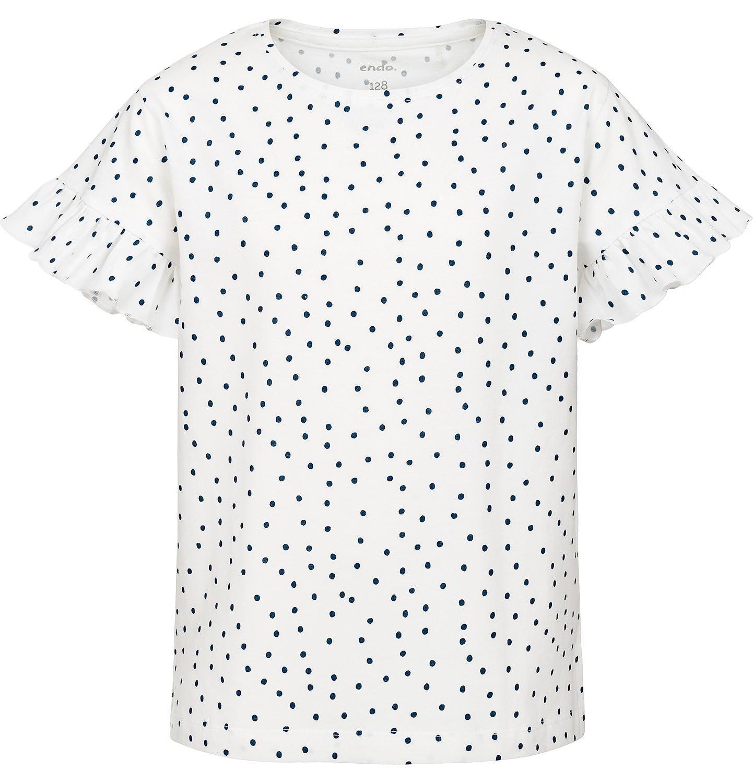 Endo - Bluzka z krótkim rękawem dla dziewczynki 9-13 lat D91G514_1