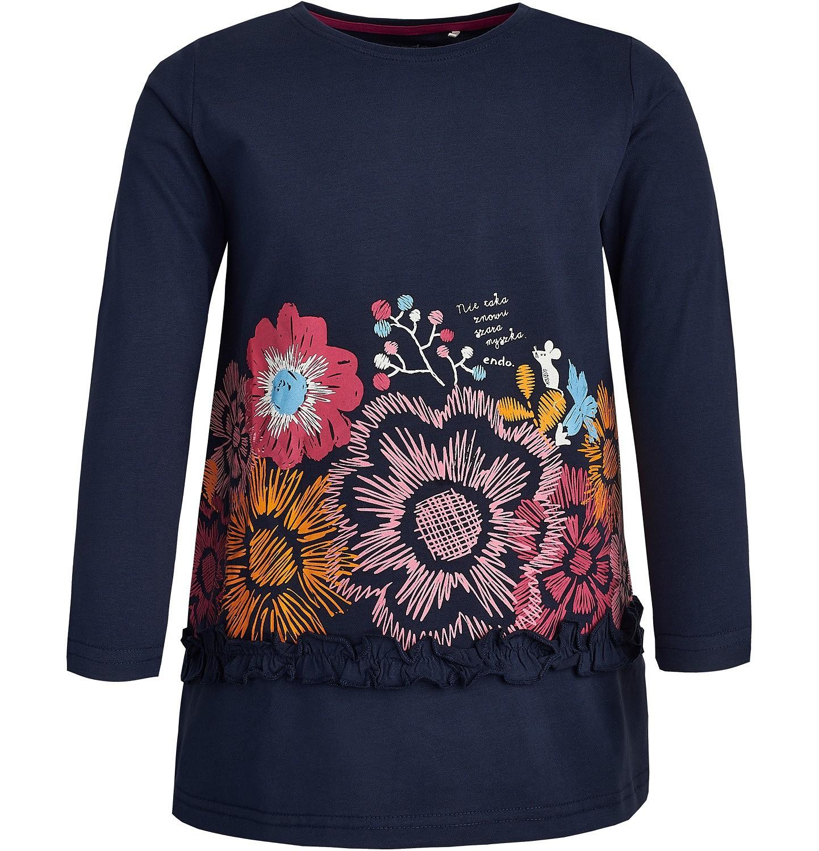 Endo - T-shirt z długim rękawem dla dziewczynki 3-8 lat D82G066_1