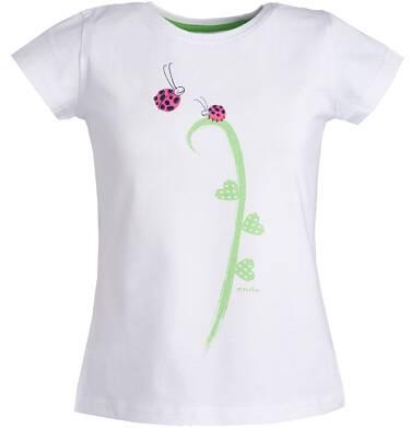 Endo - Bluzka z krótkim rękawem dla dziewczynki 3-8 lat D81G006_1