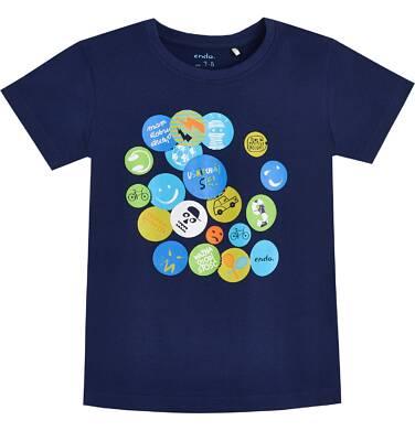 Endo - T-shirt dla chłopca 3-8 lat C81G018_1