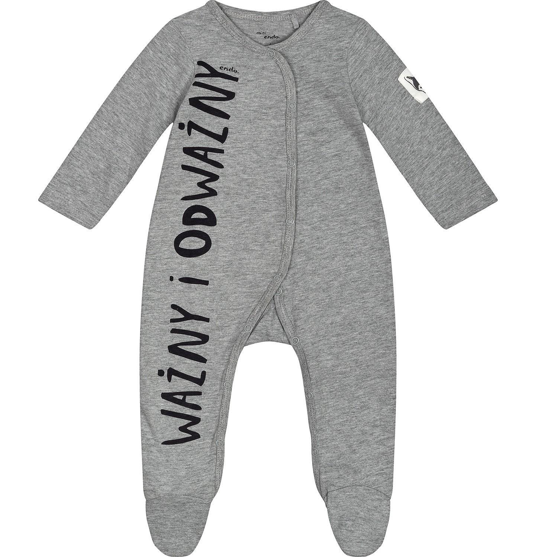 """Endo - """"Ważny i odważny"""" Pajac niemowlęcy N82N013_1"""