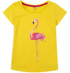 Bluzka z krótkim rękawem dla dziewczynki 4-8 lat D71G144_1