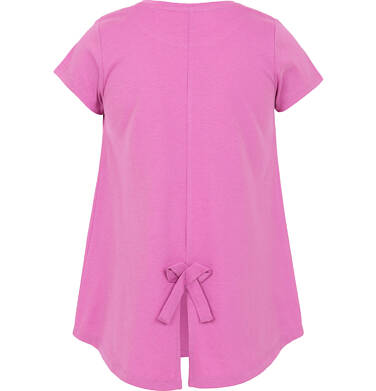 T-shirt z krótkim rękawem dla dziewczynki 3-8 lat D91G033_1