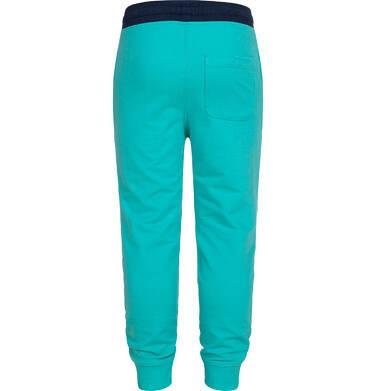 Endo - Spodnie dresowe dla chłopca, turkusowe, 2-8 lat C05K024_2 20