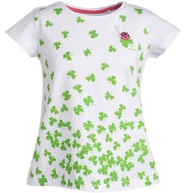 Endo - Bluzka z krótkim rękawem dla dziewczynki 3-8 lat D81G008_1