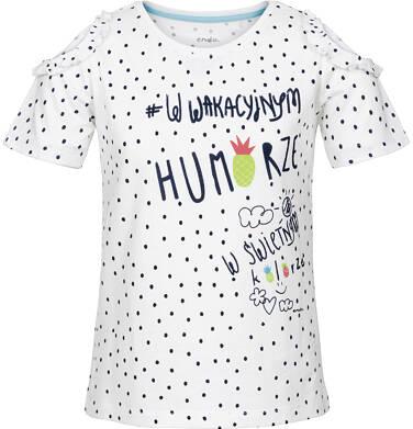 Bluzka z krótkim rękawem dla dziewczynki 3-8 lat D91G026_1