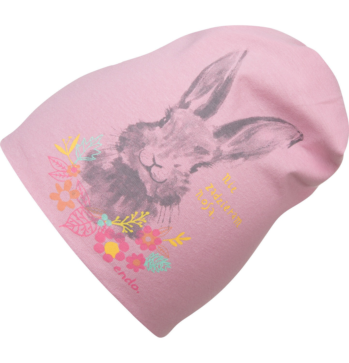 Endo - Czapka dla dziecka, różowa D04R026_1