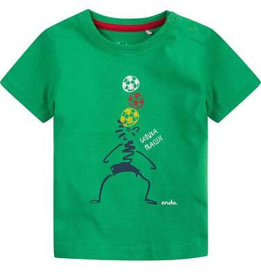 Endo - Bluzka z krótkim rękawem  dla dziecka 0-3 lat N71G003_1