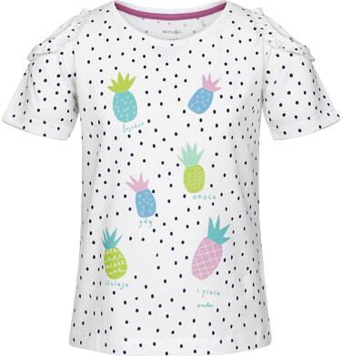Bluzka z krótkim rękawem dla dziewczynki 9-13 lat D91G528_1