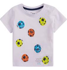 Bluzka z krótkim rękawem  dla dziecka 0-3 lat N71G004_1