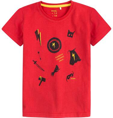 Endo - T-shirt dla chłopca 4-8 lat C71G111_1