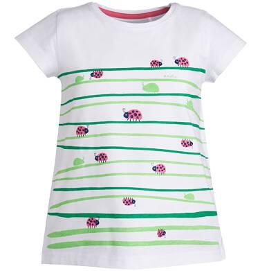 Endo - Bluzka z krótkim rękawem dla dziewczynki 3-8 lat D81G013_1