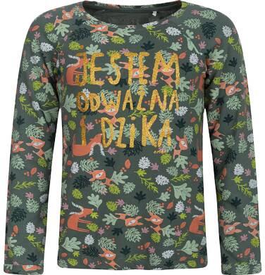 Endo - T-shirt z długim rękawem dla dziewczynki 3-8 lat D82G086_1