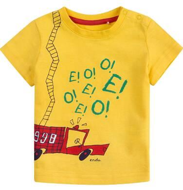 Endo - Bluzka z krótkim rękawem  dla dziecka 0-3 lat N71G040_1