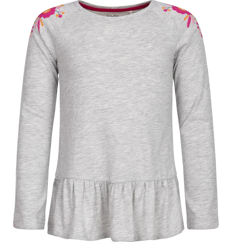 Endo - T-shirt z długim rękawem dla dziewczynki 3-8 lat D82G087_1