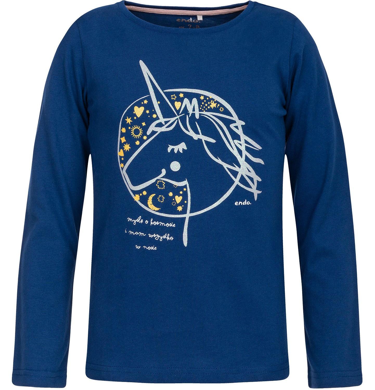 Endo - T-shirt z długim rękawem dla dziewczynki 3-8 lat D82G089_1