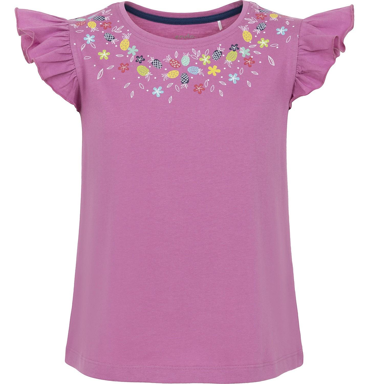 Endo - Bluzka z krótkim rękawem dla dziewczynki 3-8 lat D91G037_1