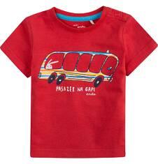 Bluzka z krótkim rękawem  dla dziecka 0-3 lat N71G042_1