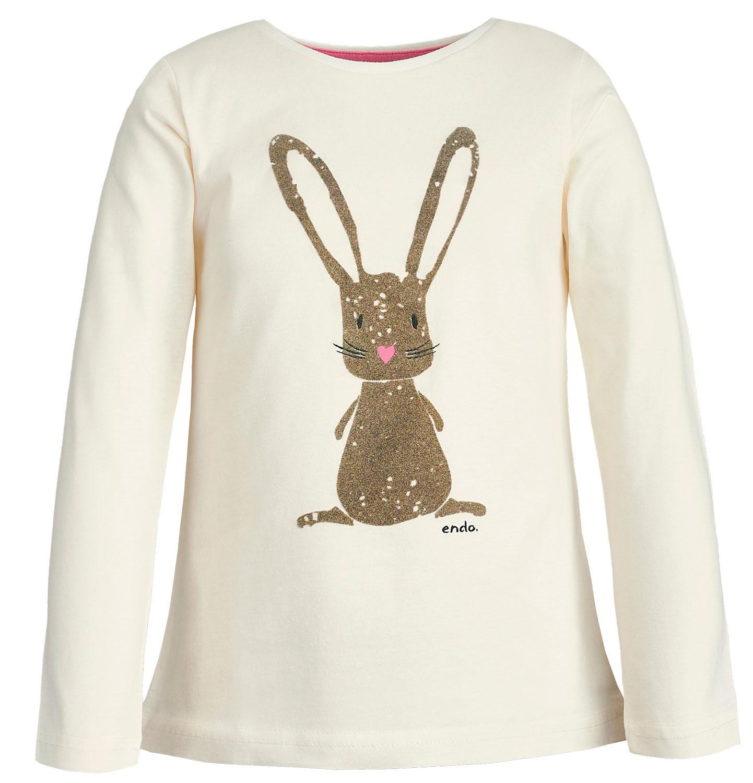 Endo - T-shirt z długim rękawem dla dziewczynki 3-8 lat D82G093_1