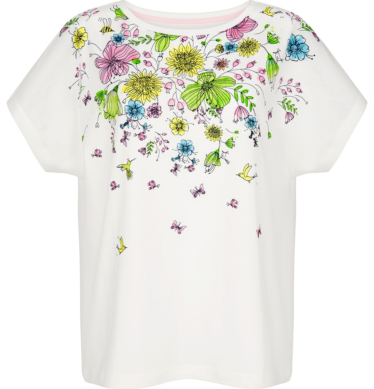 Endo - T-shirt damski z krótkim rękawem Y91G009_1
