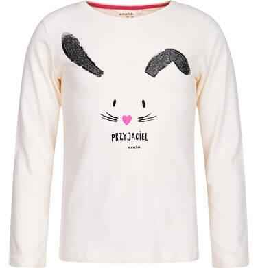 Endo - T-shirt z długim rękawem dla dziewczynki 3-8 lat D82G095_1