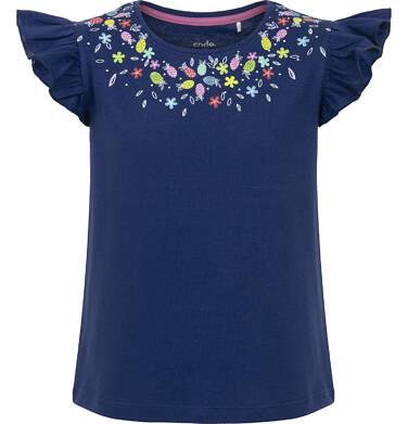 Endo - Bluzka z krótkim rękawem dla dziewczynki 9-13 lat D91G537_2
