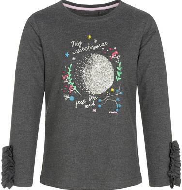 Endo - Bluzka z długim rękawem dla dziewczynki 9-13 lat D92G582_1