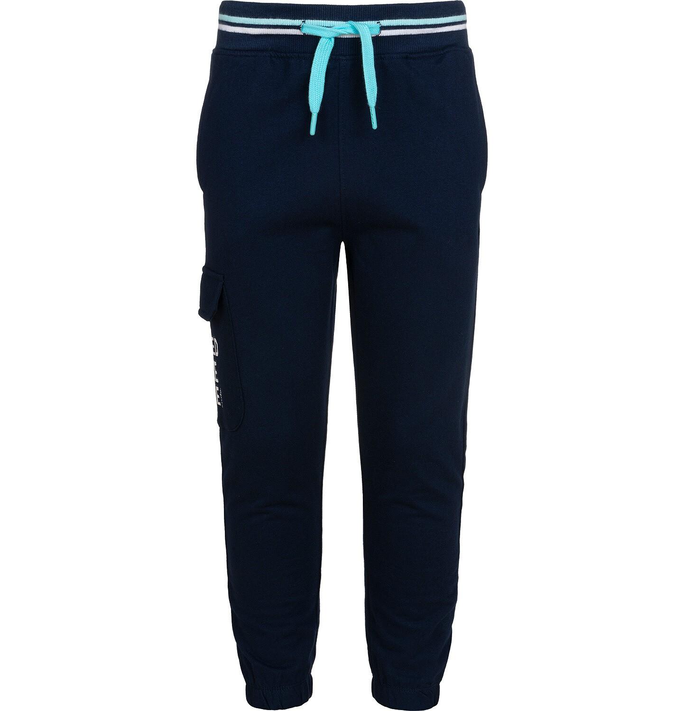 Endo - Spodnie dresowe dla chłopca, z dodatkową kieszenią, granatowe, 2-8 lat C05K025_1