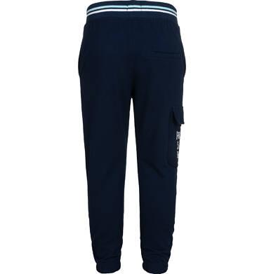Endo - Spodnie dresowe dla chłopca, z dodatkową kieszenią, granatowe, 2-8 lat C05K025_1,3