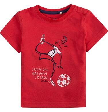Endo - Bluzka z krótkim rękawem  dla dziecka 0-3 lat N71G067_1
